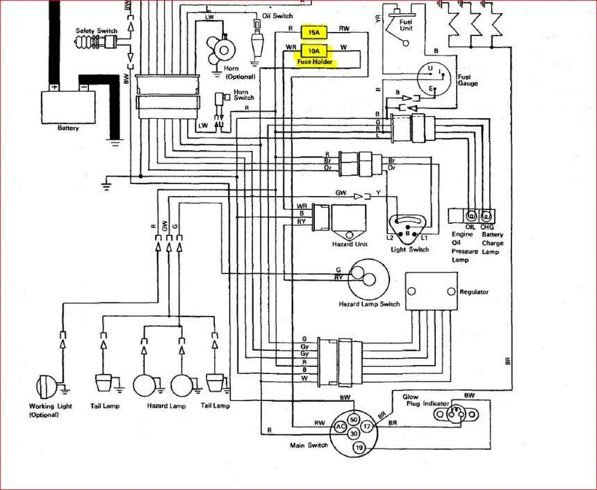 [DIAGRAM] Kubota B26 Wiring Diagram FULL Version HD