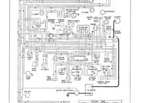 austin healey 3000 bj8 wiring diagram