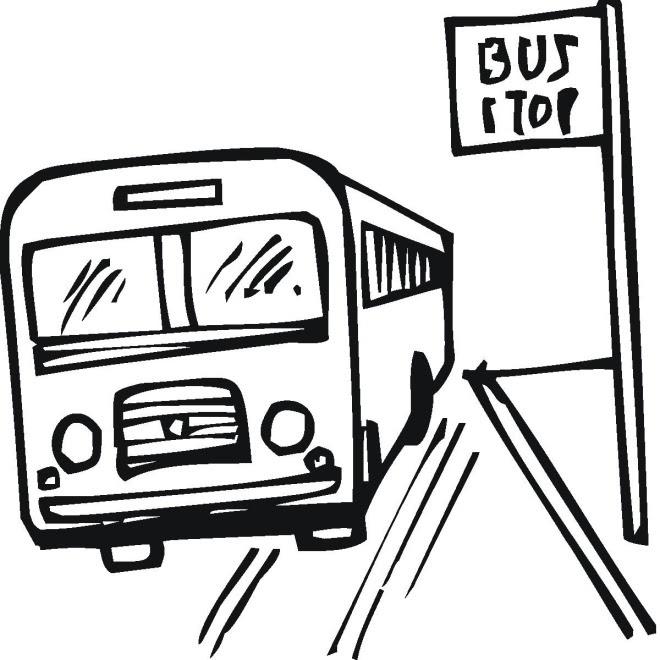 Bus Zum Ausmalen - Vorlagen zum Ausmalen gratis ausdrucken