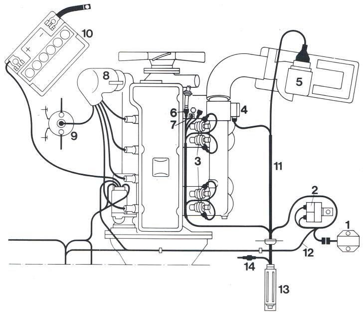 Schaltplan Opel Rekord C
