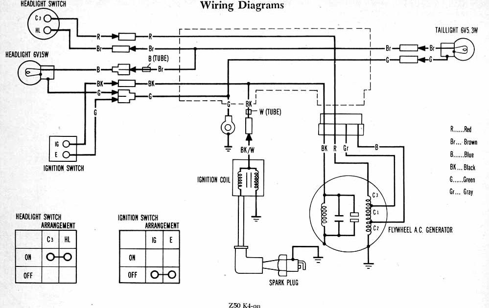 AAMIDIS.blogspot.com: Honda Z50 Wiring Diagram Coil