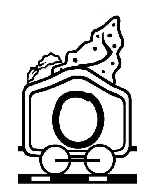 Zug Mahlvorlage Für Kinder  Malvorlage Dampflok