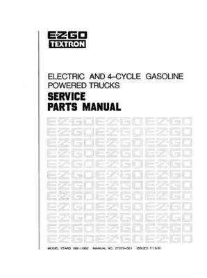 1992 Ezgo Manual