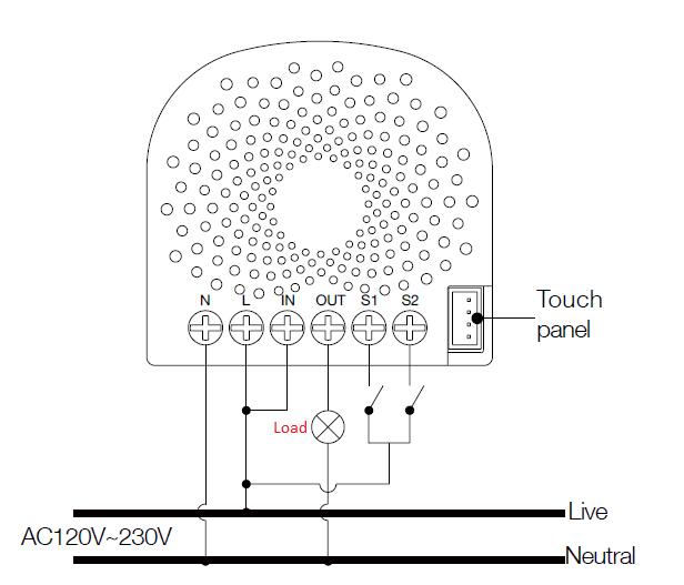 Schaltzeichen Dimmer Stromlaufplan