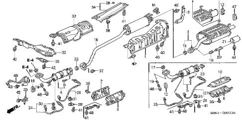 Acura Online Store2004 Exhaust Pipemuffler Parts:Acura Car