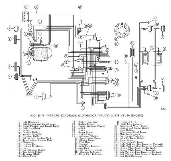 55 International Truck Ignition Switch Wiring Diagram