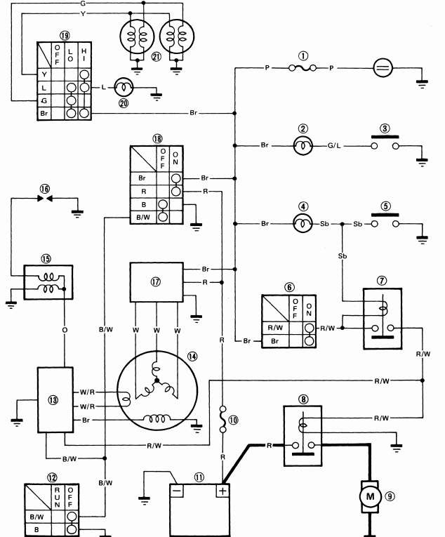 Wiring Diagram Jupiter Z1