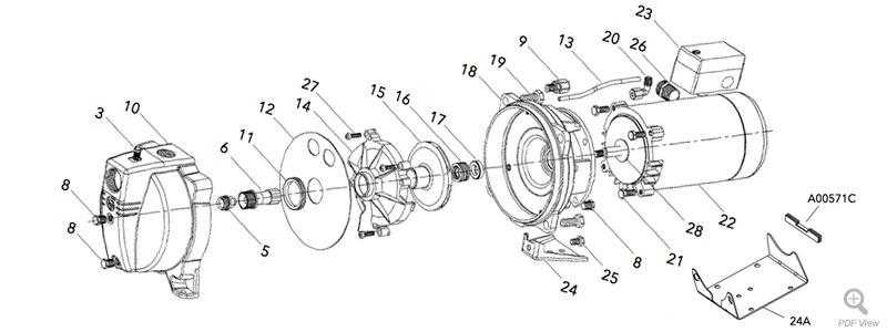 Wiring Diagram: 30 Gould Jet Pump Diagram