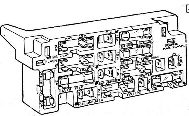 Chevy C10 Fuse Box Diagram : Diagram 1967 C10 Wiring