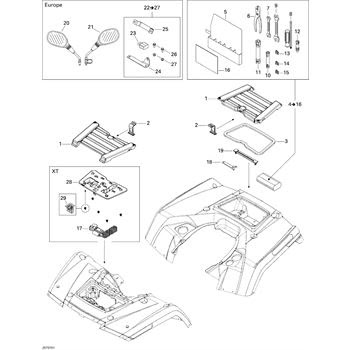 Wiring Diagram: 28 Can Am Outlander Parts Diagram