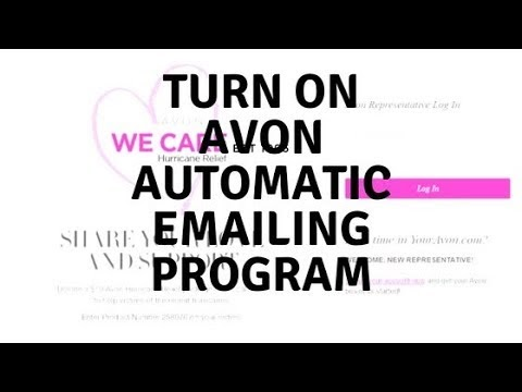 Love Yourself Beauty Online: Turn On Avon Automatic