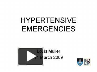 Hypertensive Urgency Icd