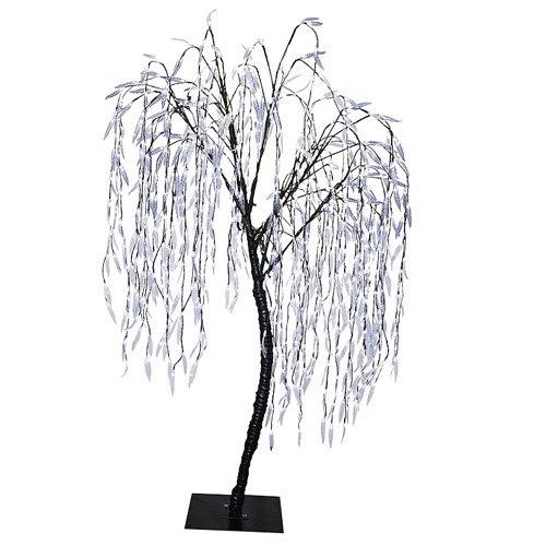 Christmas Outdoor Decor: 6.5' Pre-Lit LED Christmas Willow