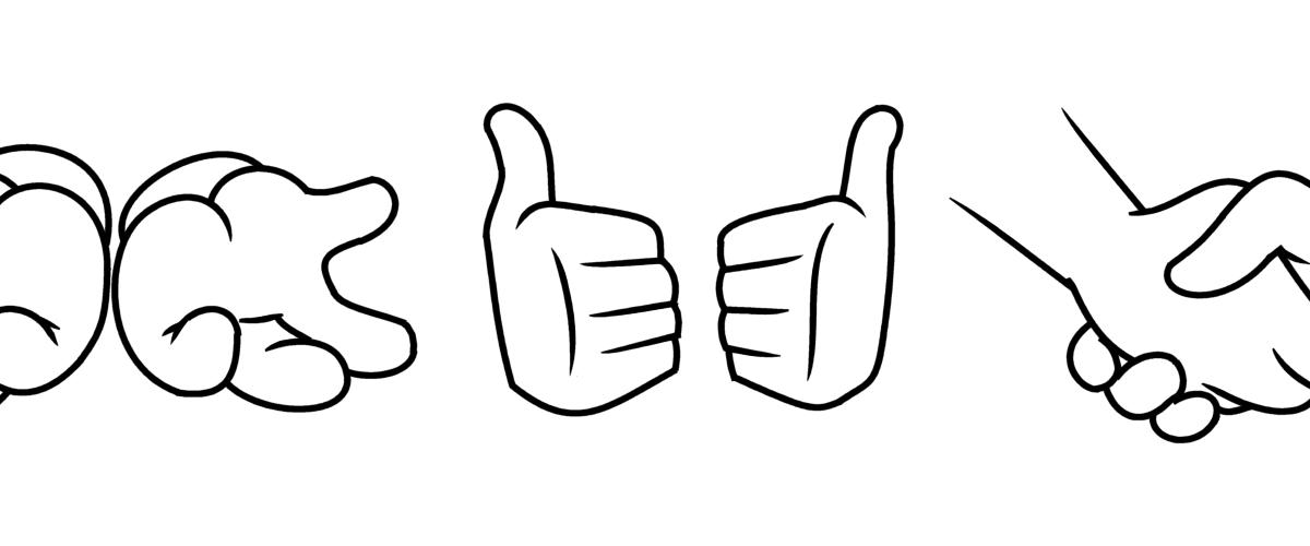 Desenhando Desenhos: Mãos