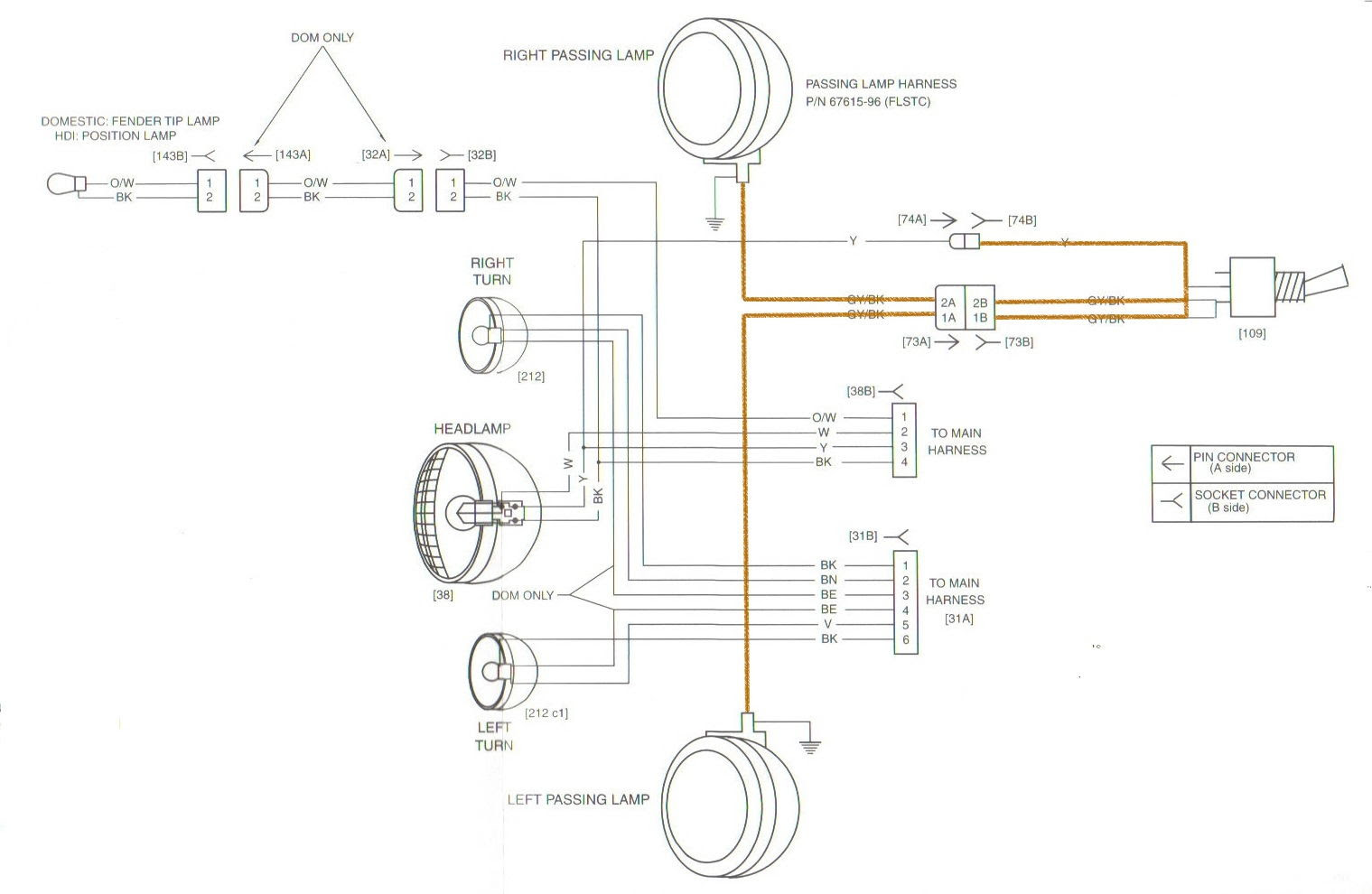 Wiring Diagram PDF: 2003 Harley Davidson Road King Wiring