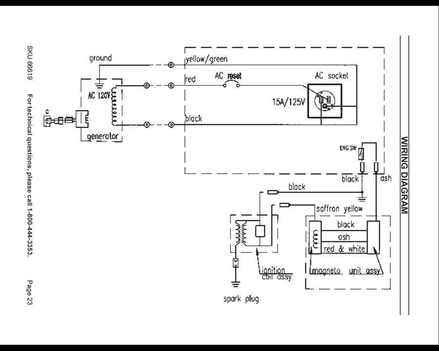 Wiring Diagram For Portable Generators