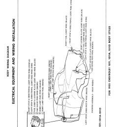 1955 chevy headlight switch wiring diagram [ 1600 x 2164 Pixel ]
