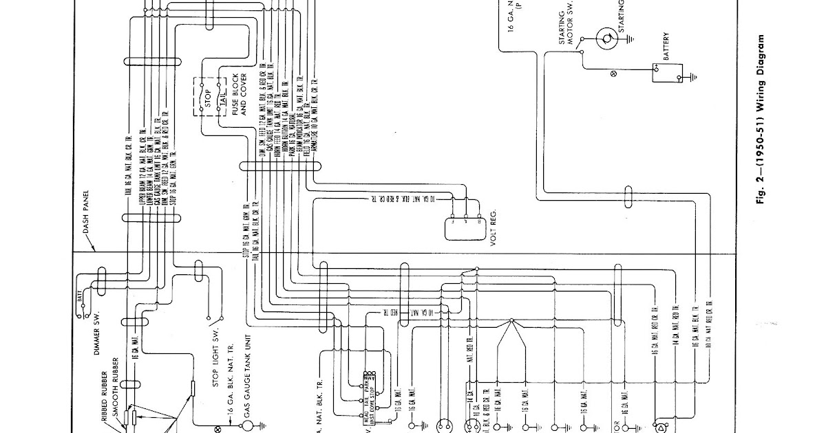 Wiring Diagram PDF: 1942 Chevy Headlight Wiring Diagram