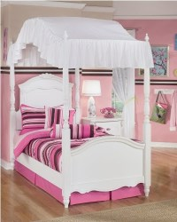 Canopy Beds For Girls: Exquisite Youth Canopy Bed