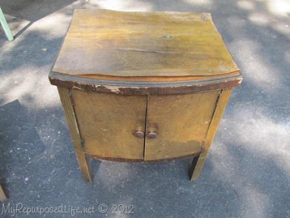 vintage record cabinet (2)