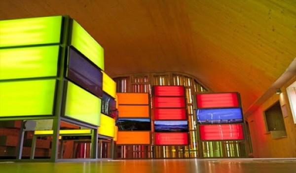 diseño interior Pabellón Español Floriade 2012