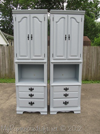 BlueGray Shelves