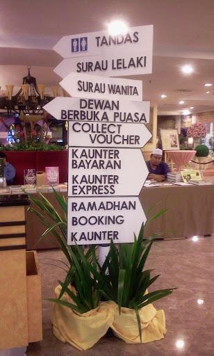 buffet ramadhan di de palma hotel