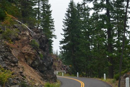 Mackenzie Pass historic road