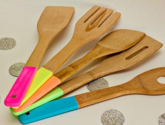 neon utensils