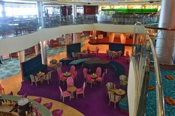 Atrium Lounge Mid Ship