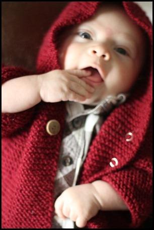 garter baby coat with hood 5