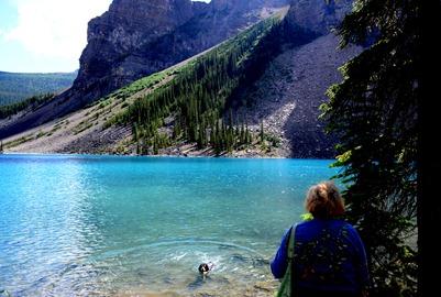 Hike around Moraine Lake-7