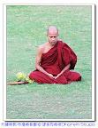 寧靜聖地-閃耀的達美克佛塔(Dhamekh Stupa)-位於印度鹿野苑遺跡公園-佛陀初轉法輪