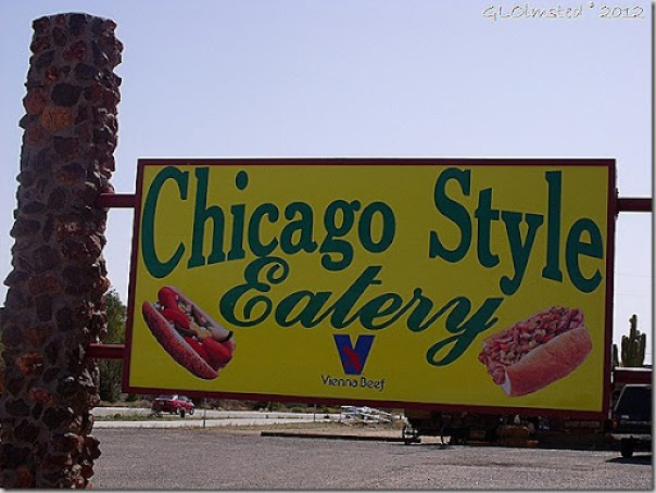 Chicago Style Eatry SR93 Wikeup Arizona