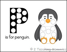 Penguin Magnet Pages