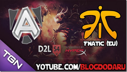 Alliance x Fnatic - D2L - Playoffs