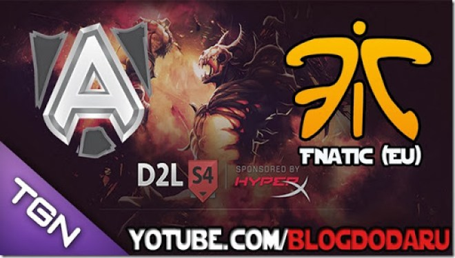 Alliance x Fnatic - D2L - Playoffs