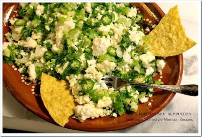Cheese in chile verde8