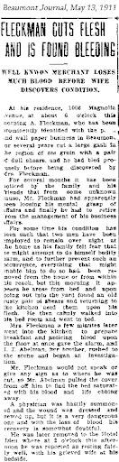 AFleckman-1911-05-13Paper-Beaumont Journal
