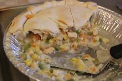 Family Style Chicken Pot Pie