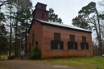 church at Rocky Springs townsite