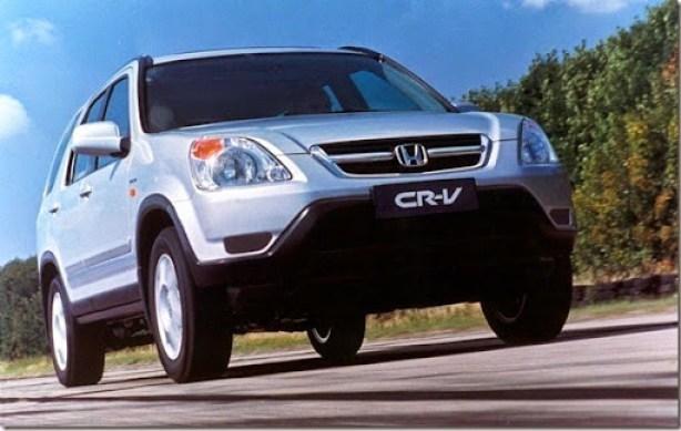 26.04.2002 - Divulgação - CA - carro - Honda CR-V - São Paulo, Sp - opaco.