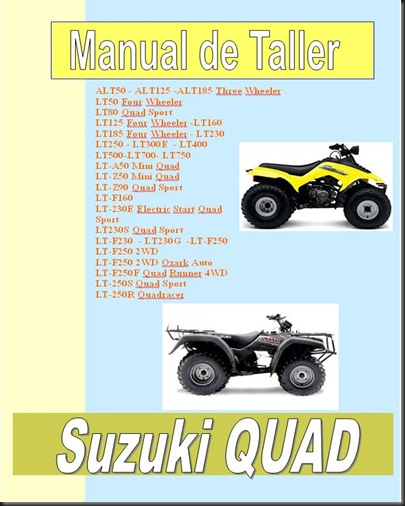 03manual taller suzuki King Quad