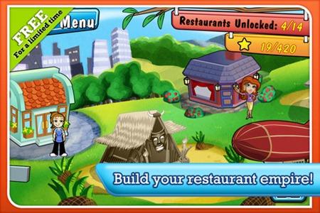 [iPhone/iPad] Diner Dash 美女餐廳。餐廳經營遊戲限免下載 ~ 靖技場 § 軟體下載區