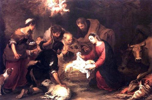 Adoração dos Magos - Pintura de Bartolomé Esteban Murillo