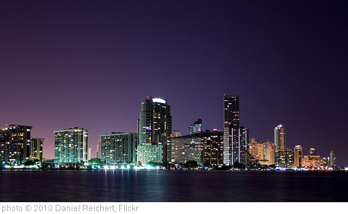 'Miami from Key Biscayne' photo (c) 2010, Daniel Reichert - license: http://creativecommons.org/licenses/by-sa/2.0/