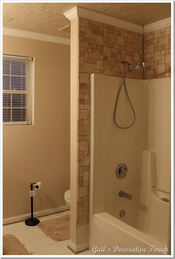 Gails Decorative Touch Crown Molding and Tile is up in
