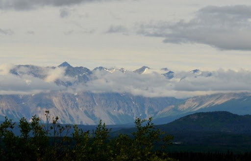 the St Elias Mountains