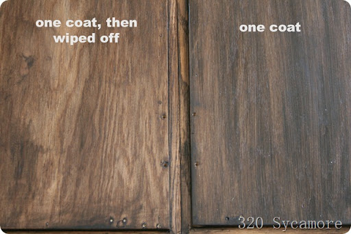 Gel Stain Over Polyurethane