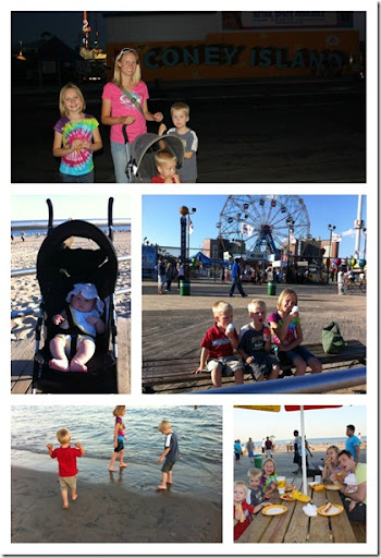 Coney Island Collage